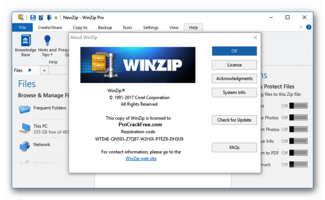 WinZip Pro Crack 25.0 Build 14273 With Keygen Full [Latest]