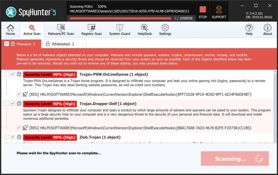 SpyHunter 5 License Key Full Crack