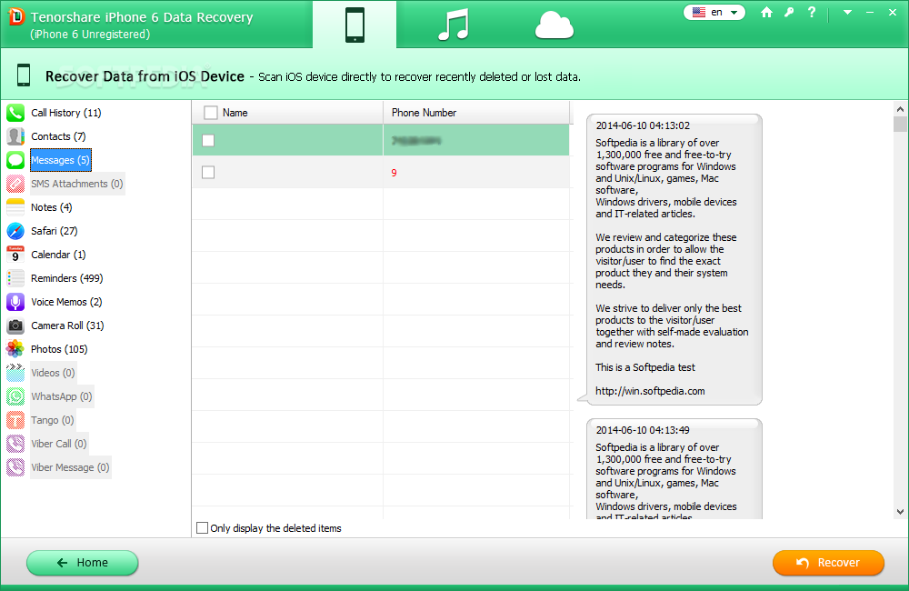 Tenorshare UltData iOS for Pc 9.6.4 Crack