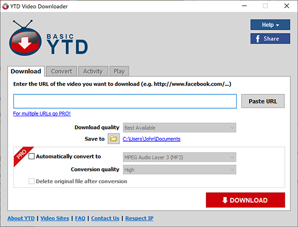 YTD Video Downloader Pro 7.3.23 Crack