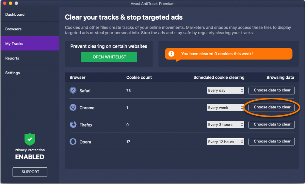 Avast Antitrack Premium 19.4.2370 Crack